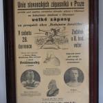 Gustav Frištenský  plakát Unie slovanských zápasníků