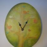 hodiny strom