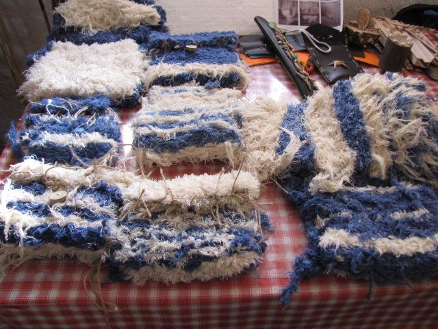 Výrobky před dokončením