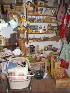 Dětské hračky a různé drobnosti