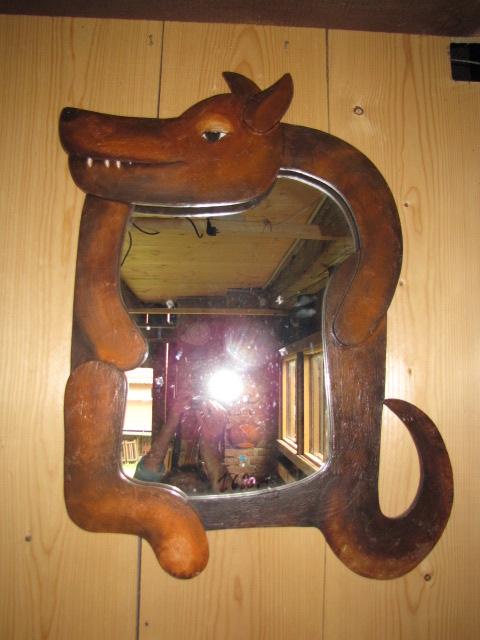 zrcadlo pejsek